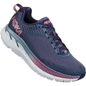Hoka One One W's Clifton 5 Running Shoes marlin/blue ribbon